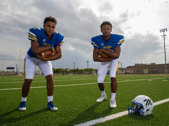 Moody's D'Andre Cage and Dajon Moore