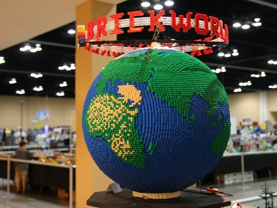 Brickworld features displays by master builders.