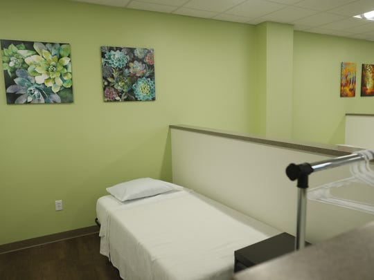 A view inside Circle the City's new Phoenix facility to help the homeless.