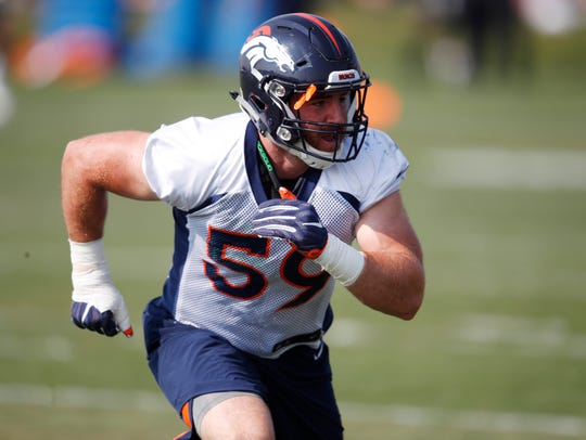Former Iowa linebacker Josey Jewell is quickly making a name for himself in Denver.