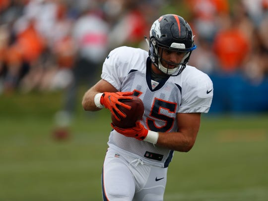 Bo Bower is looking to make an impact in a deep Denver linebacker group.