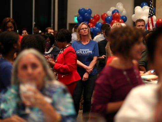 Governor's candidate Andrew Gillum's watch party
