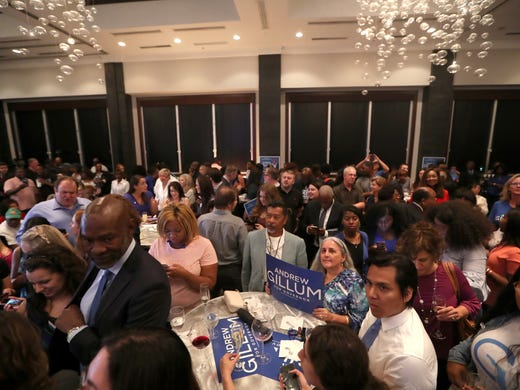 Governant Andrew Gillums Watch Party