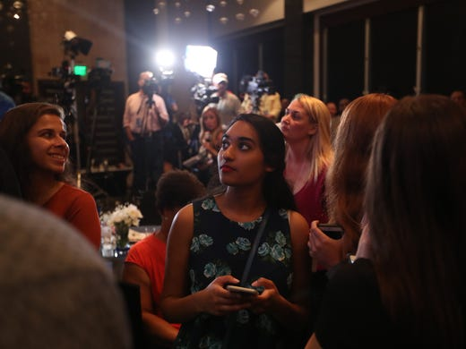 Gubernatorial candid ate Andrew Gillum's Watch Party