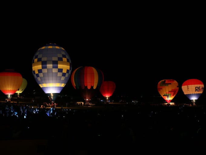 Scenes from the Great Reno Balloon Race at Rancho San