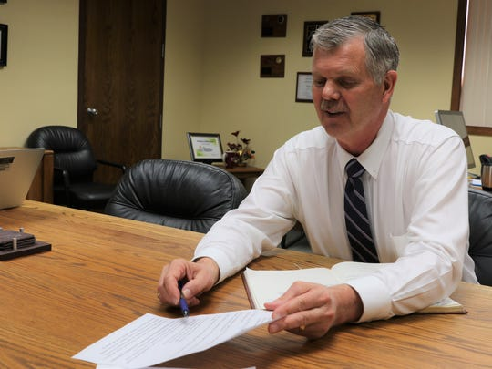 Farmington schools Superintendent Eugene Schmidt believes a concentrated effort by the district to connect students to the world of work is one of the reasons the district's graduation rate improved for the Class of 2018.