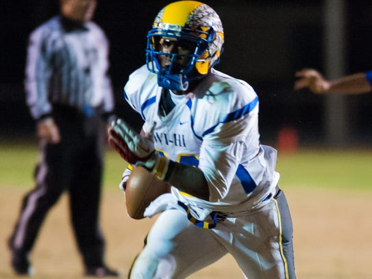 Wicomico High running back Nelson Brown was chosen