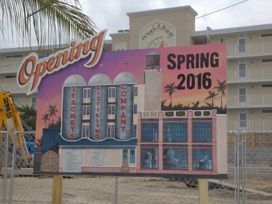The Seacrets' distillery will be allowed to produce