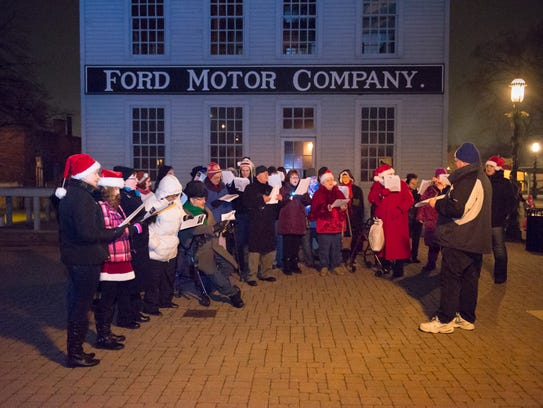 Holiday Nights in Greenfield Village continues through
