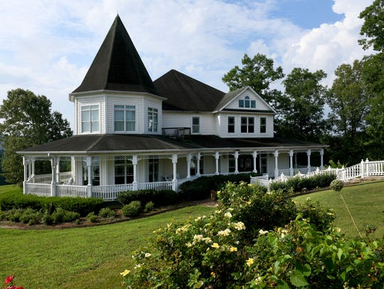 The Lion and Lamb lodge at Whitestone Country Inn Friday,