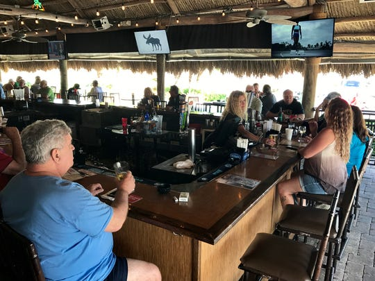 The Sandy Parrot is now Mike's, featuring a new, more casual menu and the same tiki-bar vibe.