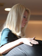 Sandra Lee, who shares her New Castle home with her