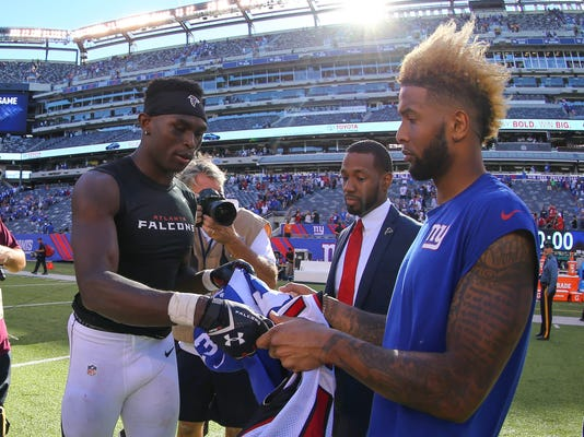 NFL: Atlanta Falcons at New York Giants