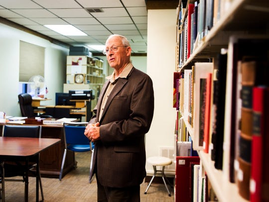 Marvin Muhlhausen, the archivist and research at the