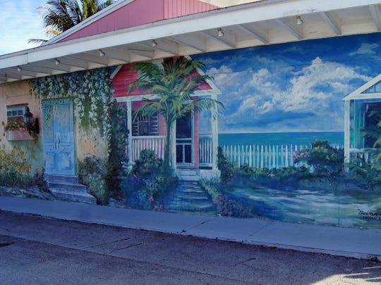 In Jensen Beach, Key West-style cottages, galleries,