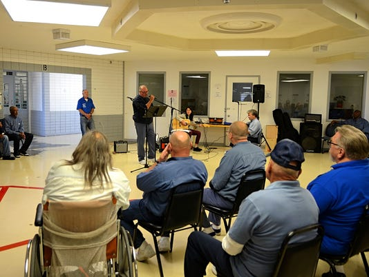 Inmates perform at Northern Nevada Correctional Center