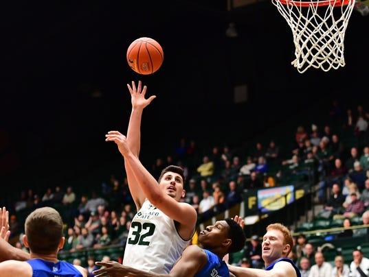 NCAA Basketball: Air Force at Colorado State