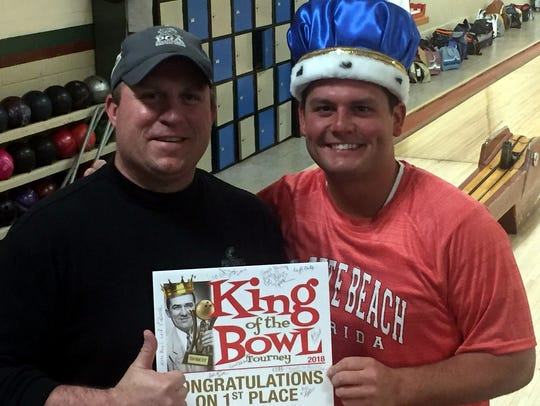 King of the Hill tournament coordinator Jason Daubner,