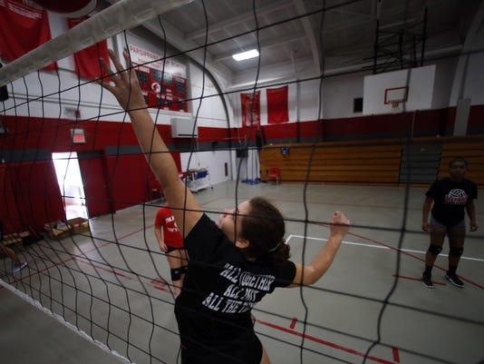 Parsippany High School volleyball