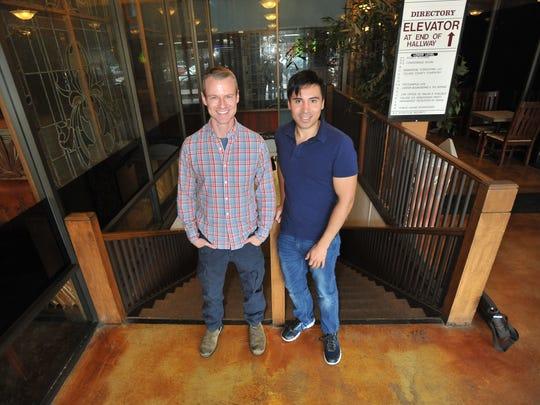 Brian Poth and Nicholas Vargas in Visalia on Saturday, March 19, 2016.