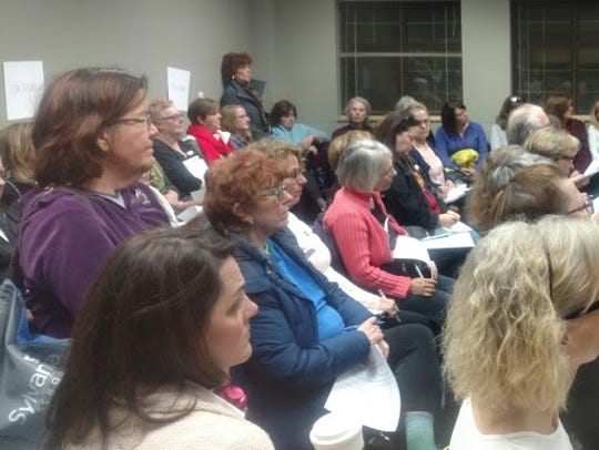 Indivisible Northville meets the third Monday of each