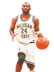 Former MSU guard Shawn Respert.