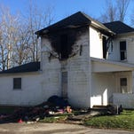 A Monday afternoon fire damaged a house in Fountain City.