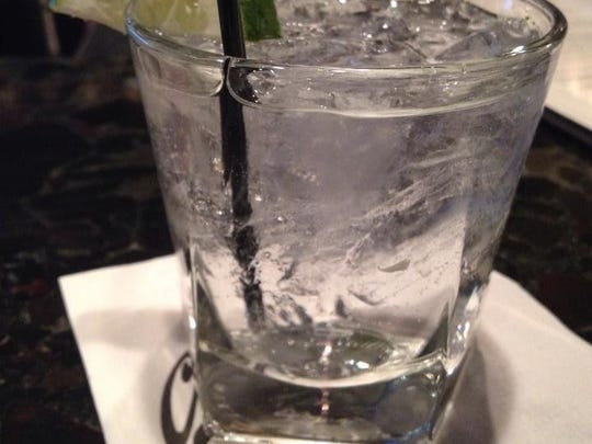 A gin and tonic at Charley G's.