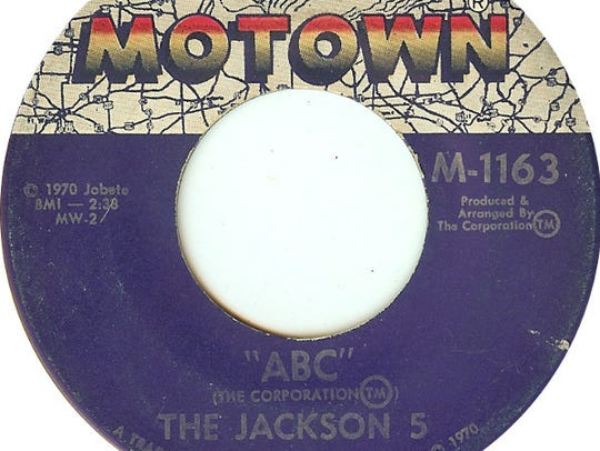 "The Jackson 5's 1970 single ""ABC"" on Motown Records."
