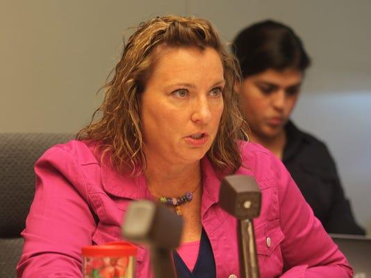 Sally Gaer at hearing