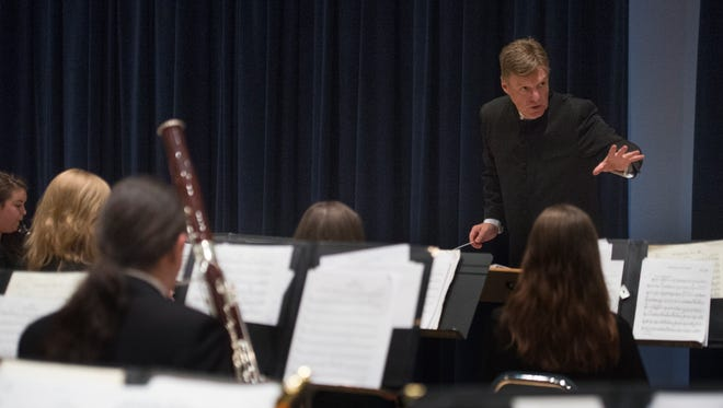 Rod Chesnutt is the former Wind Orchestra conductor at Florida Gulf Coast University. He resigned in October, two months after FGCU began investigating allegations of misconduct and and unethical behavior.