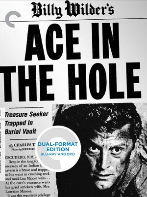 """""""Ace in the Hole"""" (1951), starring Kirk Douglas was co-written and directed by Billy Wilder and filmed in Gallup, New Mexico."""