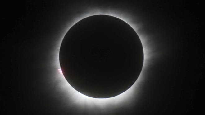 Monday, Aug. 21, marks the first total solar eclipse to cross the United States from coast tocoast, west to east, since1918.