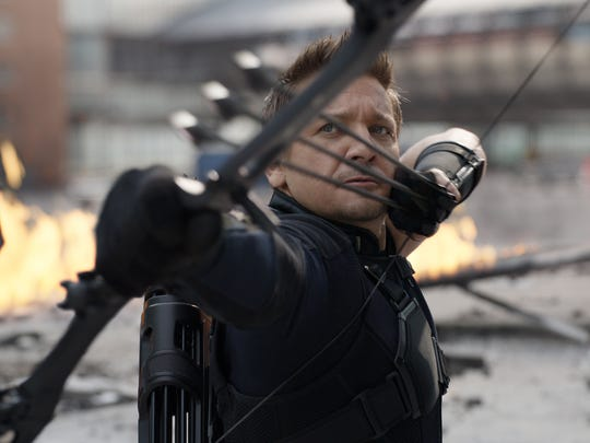 When Team Cap calls, Hawkeye (Jeremy Renner) answers