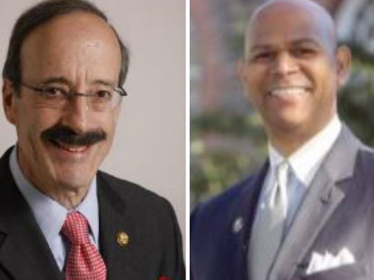 Rep. Eliot Engel is opposed in the 2016 election by Derickson Lawrence of Mount Vernon, who is running on the People's Choice line.