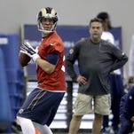 Former Eagles quarterback Nick Foles lost his starting job in his first season with the Rams.
