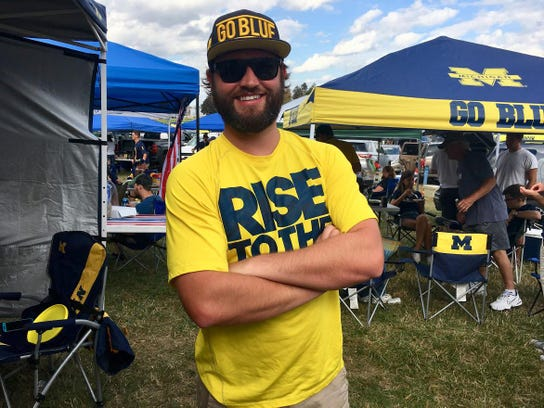 Chris Peuterbaugh of Shelby Township usually goes to