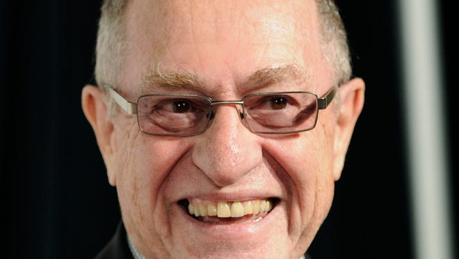 In this April 25, 2012 file photo attorney Alan Dershowitz attends a premiere of a film during the 2012 Tribeca Film Festival, in New York. Dershowitz, a renowned defense lawyer who represented O.J. Simpson, and who identifies as a centrist Democrat, has lamented that even though he voted for Democrat Hillary Clinton, invitations to dinner and other highbrow social events on the island of Martha's Vineyard off Massachusetts have dried up over his backing of President Trump