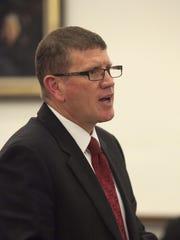 Public defender Robert Goff