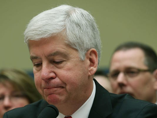 Michigan Gov Rick Snyder Testifies At House Hearing On Flint Water Crisis