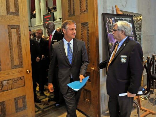 Gov. Bill Haslam spent 21 months between 2013 and 2014 working with federal health administrators on crafting Insure Tennessee.