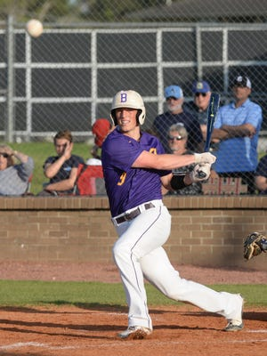 Byrd's Steele Netterville will compete in the LHSCA All-Star game in May.