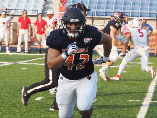 Lebanon High grad and Bucknell linebacker Mark Pyles was recently named to the Patriot League's Preseason All League Team.