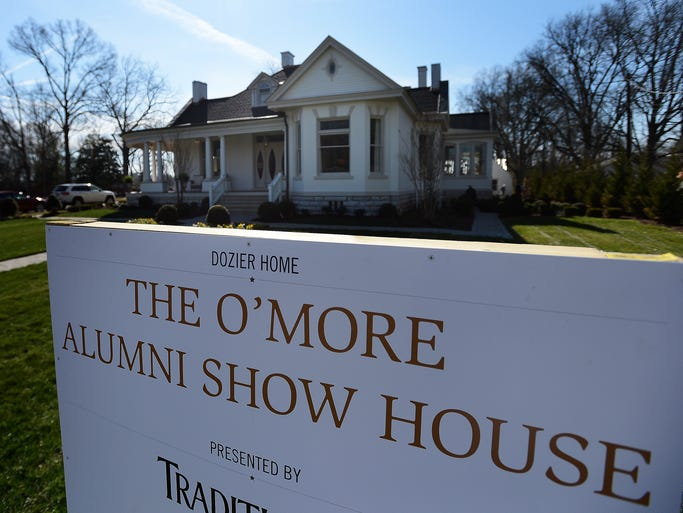The O'More College of Design Alumni Show House is an annual fundraiser for the college, where alumni redesigned the Historic Dozier House, which will be open for tours this month.