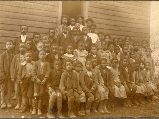 An image of an African-American School.