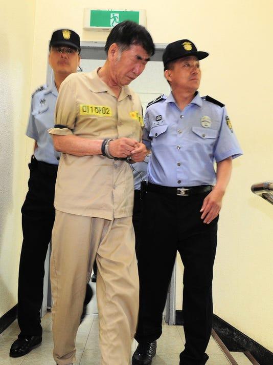 Prosecutors seek death penalty for S. Korea ferry captain