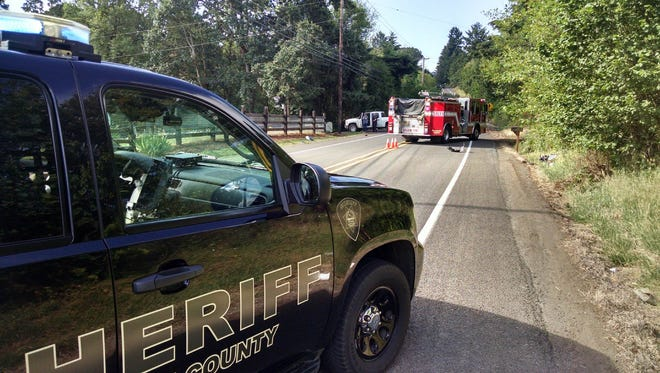A fatal crash closed Liberty Road South just south of Salem Thursday morning.