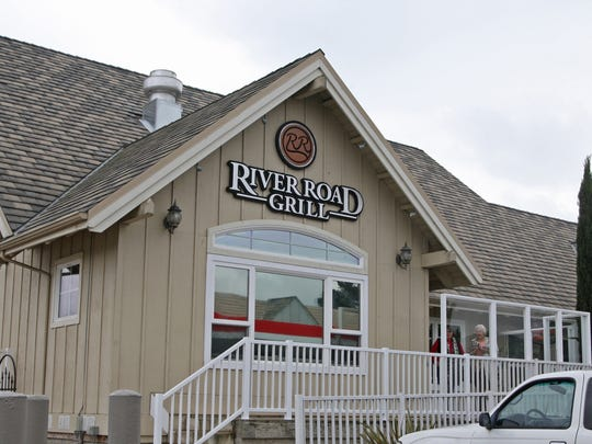Entrance to the River Road Grill, 275 River Road, Salinas