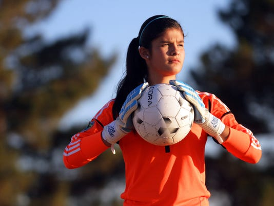 El Pasoan Emily Alvarado will be competing at this year's Women's World Cup as a goalkeeper for the Mexican National Team.