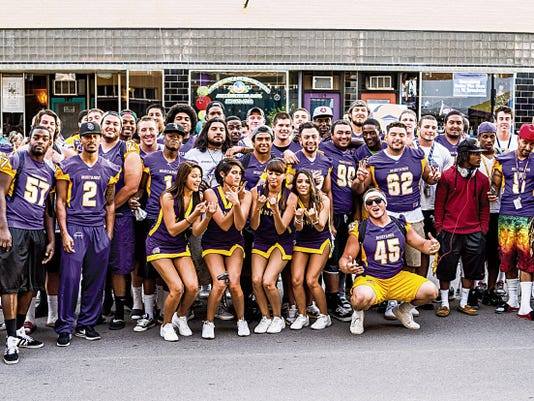 Students from WNMU gather to celebrate last year's Bash on Broadway. This year's event will be held from 5 to 10 p.m. on Aug. 15 on Bullard Street in Silver City. Courtesy Photo